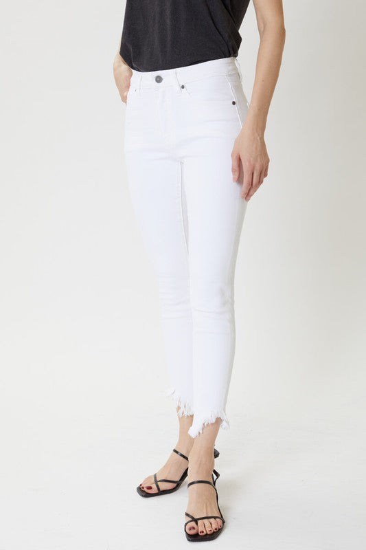Shaggy White Lightning Denim