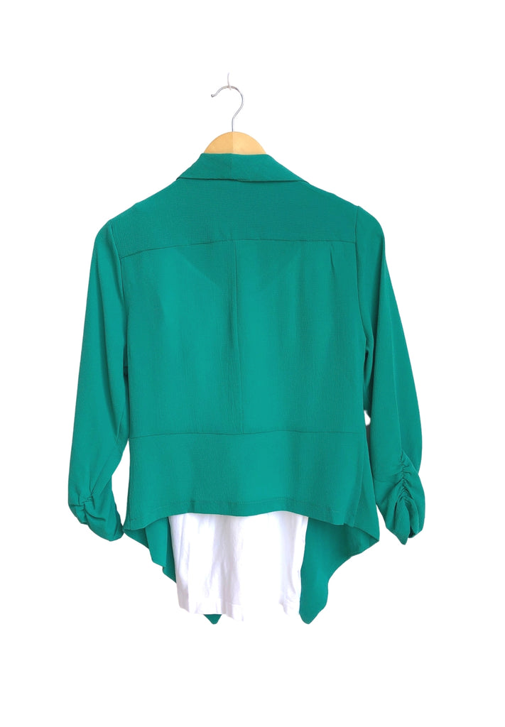 Everyday Short Blazer - Mint