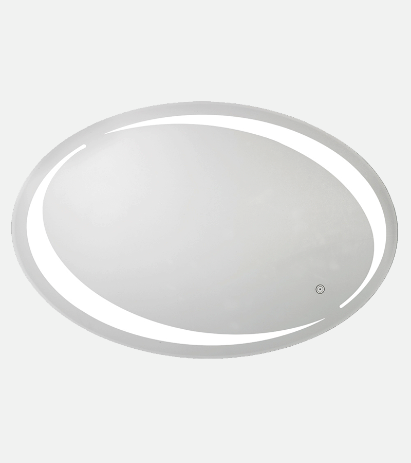 Large Oval Vanity Mirror with Tunable LED Light - THE VIVIEN