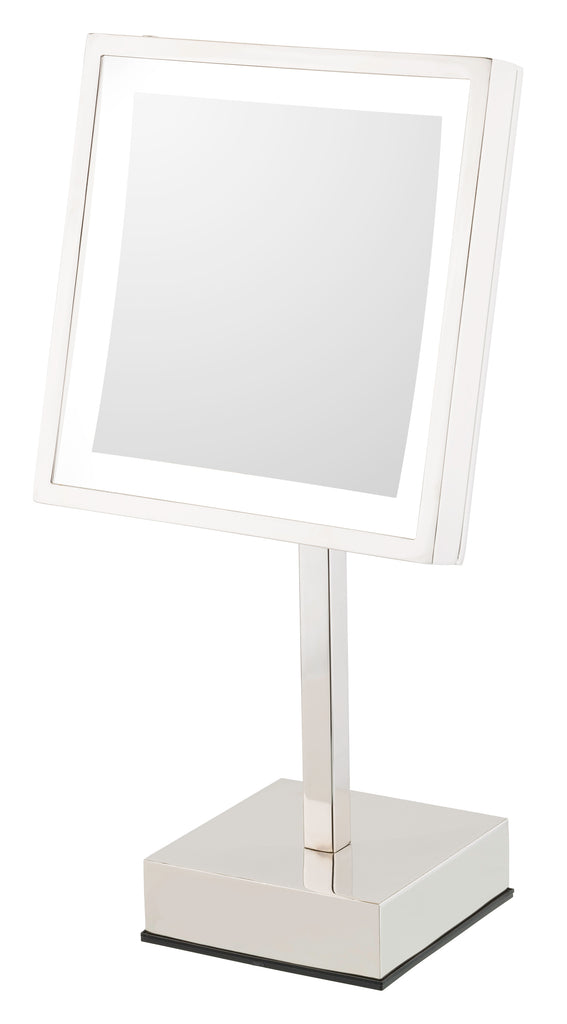 THE HELEN - LED Lighted 3x Magnified Single-Sided Freestanding Mirror