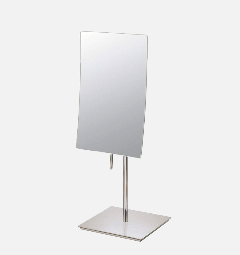 THE INGRID - 3x Magnified Tall Rectangular Freestanding Mirror