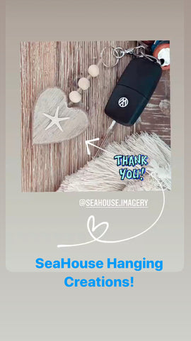 Key Rings for SeaHouse Hanging Creations Craft