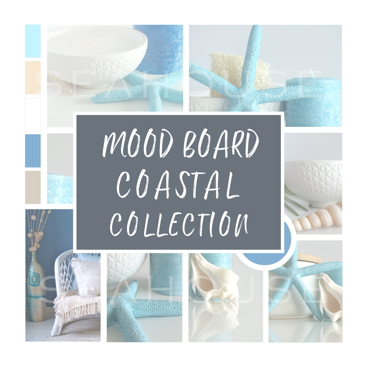WM Mood Board Coastal Collection for Blog