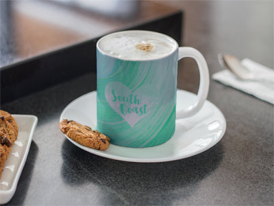 Coffee Mug With Biscuit for About Us Page SeaHouse Imagery