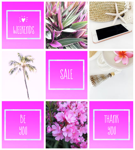 Blog Colour Style for IG Pinks