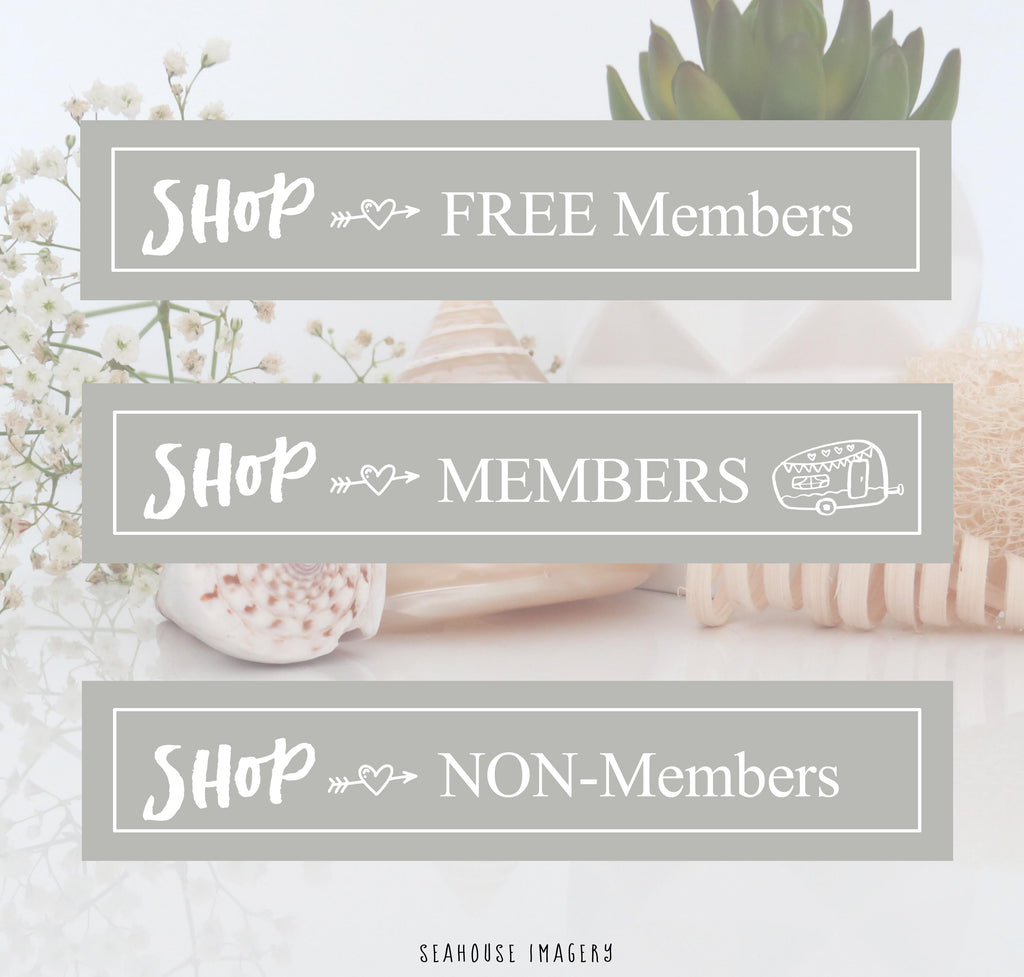 Shop as a Free Member, Member or Non-Member