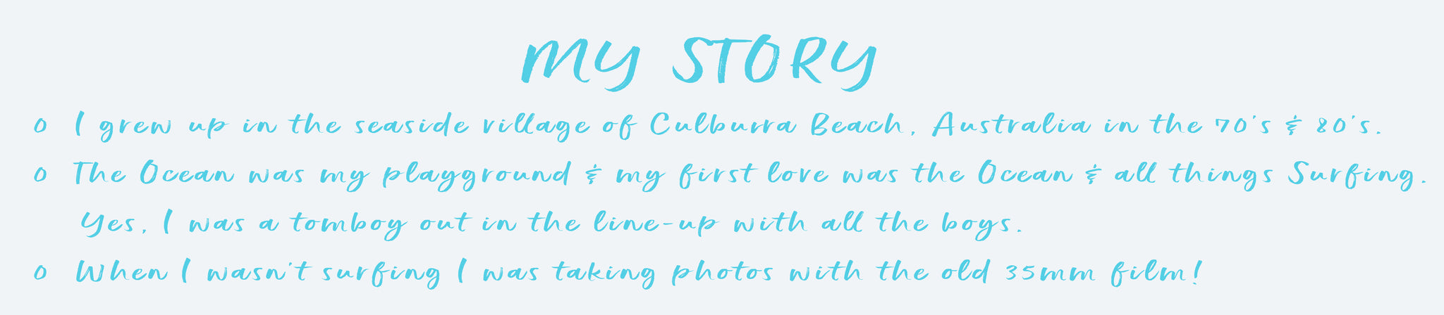 My Story for About Us Page SeaHouse Imagery