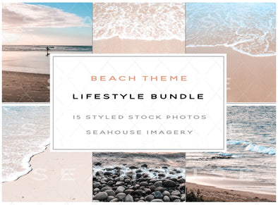 WM Bundle Beach Theme Lifestyle Stock Photos Main Product Image 1