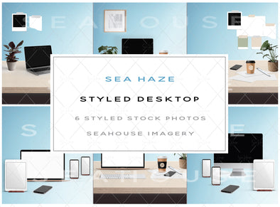EXCLUSIVE USE Bundle - Sea Haze Styled Desktop Stock Photos Main Product Image
