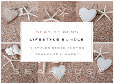 WM EXCLUSIVE USE Bundle Seaside Gems Lifestyle Bundle Stock Photos Main Product Image 1