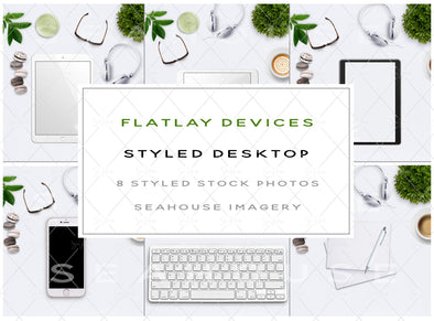 EXCLUSIVE USE Bundle Styled Desktop Flatlay Devices Main Product Image