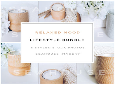 WM Bundle Image - Lifestyle Relaxed Mood Timber Candle