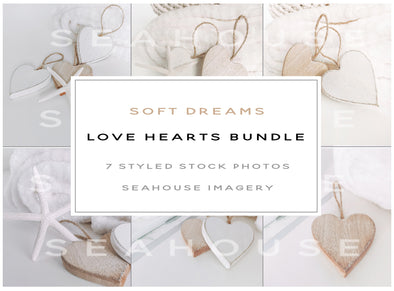 EXCLUSIVE USE Bundle - Soft Dreams Love Hearts