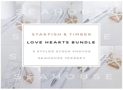 WM Bundle - Starfish and Timber Love Hearts