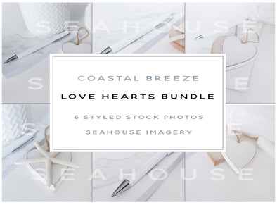Bundle - Coastal Breeze Love Hearts