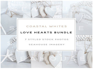 WM Bundle - Coastal Whites Love Hearts