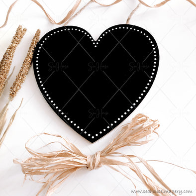 Stock Photos Happy Mother's Day 3846 Blank Black Chalkboard Heart Dried Wheat Heads Raffia Bow at Bottom Curl at Top Zoomed In Square Size