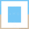 WM EXCLUSIVE USE Background Blue White Sand Square