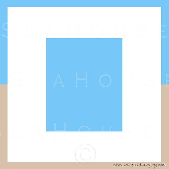WM EXCLUSIVE USE Background Blue White and Sand Square Size