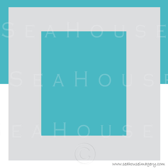 WM EXCLUSIVE USE Background Turquoise White and Grey Square Size