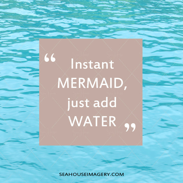 WM EXCLUSIVE USE Instant Mermaid Add Water 507