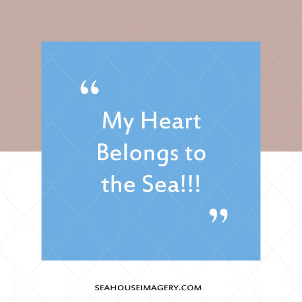 WM EXCLUSIVE USE My Heart Belongs To The Sea