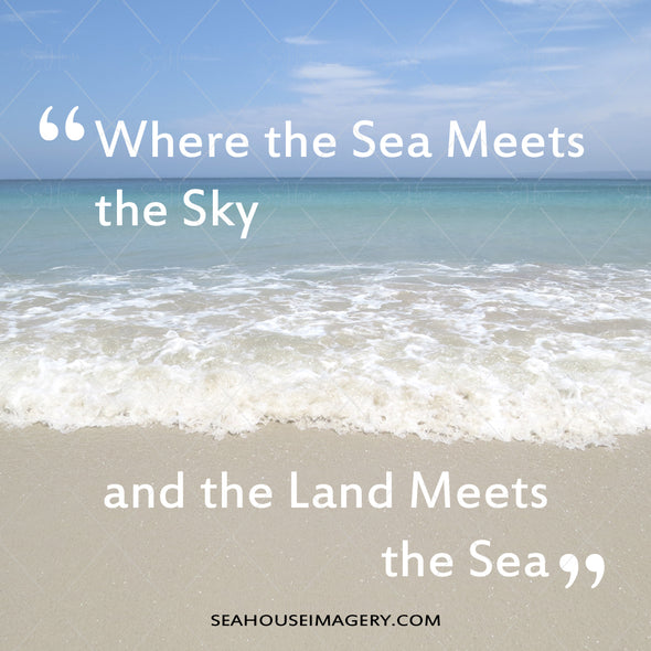 WM EXCLUSIVE USE Where Sea Meets the Sky and the Land Meets the Sea 5144