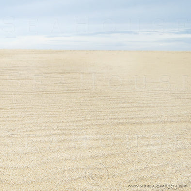 WM Background Sand Uphill to Pale Blue Sky Horizon 9045 Square Size