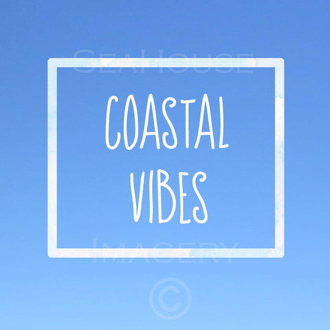 WM Coastal Vibes Blue Square Size