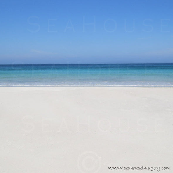 WM Beach White Sands Blue Water 1080 x 1080 Square Size