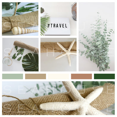WM Mood Board Coastal Hessian Green 4 Square Size