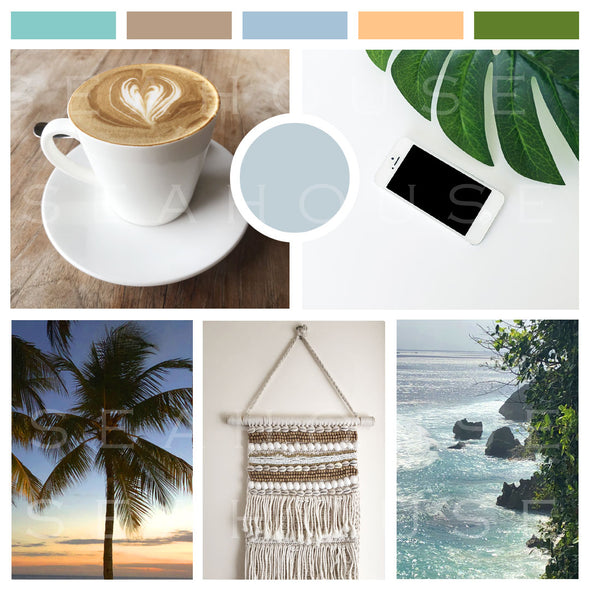 WM EXCLUSIVE USE Mood Board Coastal On Trend Favourites Square Size