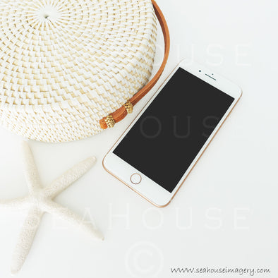 WM Rose Gold Phone Boho Bag Starfish 9553 Square Size