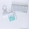 WM Styled Desktop Modern Blue and White 1874 13 Square
