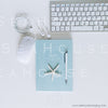 WM Styled Desktop Modern Blue and White Grateful 1883 17 Square