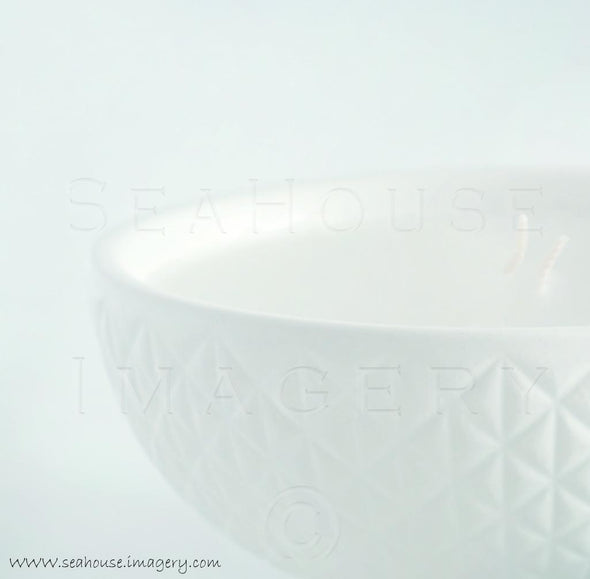 WM EXCLUSIVE USE White Candle Close Up 7171 Square Size