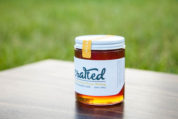 Wildflower Raw Honey by Crafted Honey