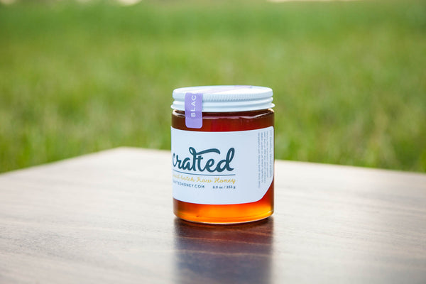 Blackberry Raw Honey by Crafted Honey