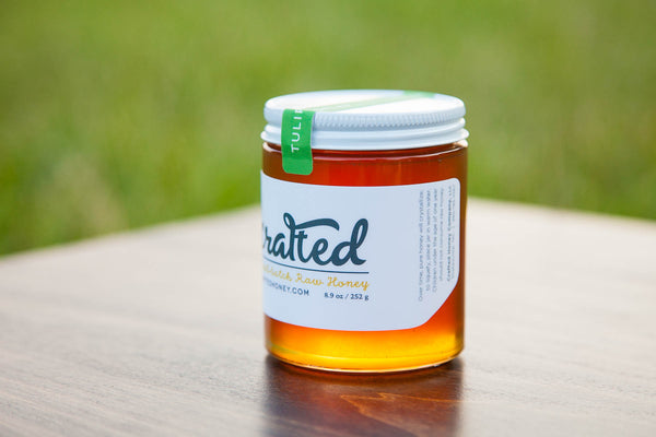 Tulip Poplar Raw Honey by Crafted Honey