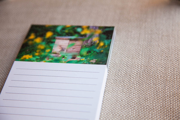 Outside the Hive Fine Art Notepad | Crafted Honey