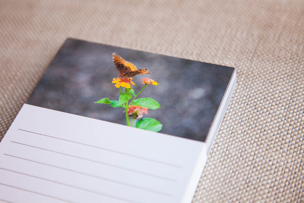 Friendly Pollinator Fine Art Notepad | Crafted Honey