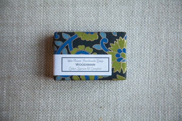 Woodsman Cold Process Soap | Little Flower Soap Co