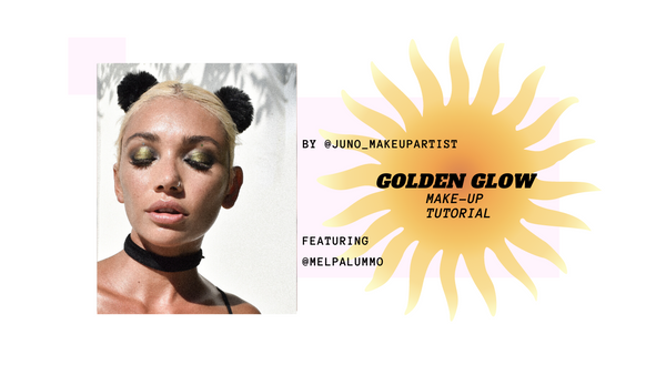 Golden Glow Make-up Tutorial by @juno_makeupartist
