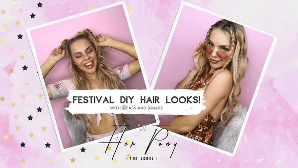 Shayla Jay Shows Us 3 Easy Festival DIY Hair Looks!