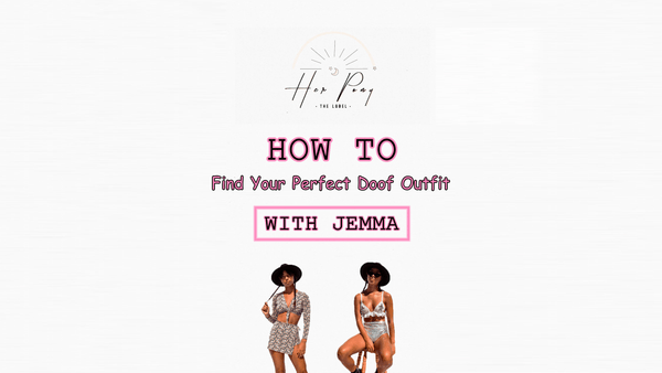 How to Find Your Perfect Doof Outfit with ☆ Jemma Rose (@jemma.dalitz) ☆