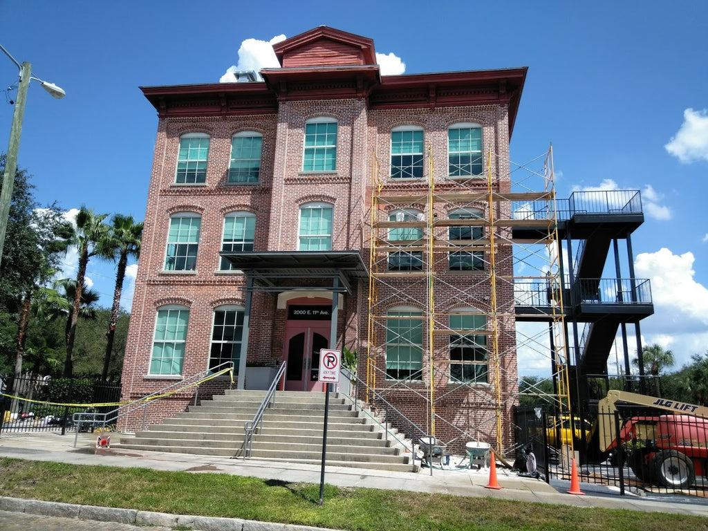 HISTORIC BUILDING RESTORATION - BRICK AND MORTAR MATCHING IS OUR EXPERTISE !