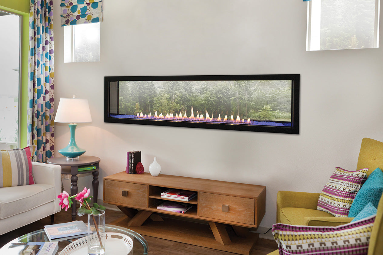 Ventless Gas Fireplace - Empire Boulevard Vent-Free 60