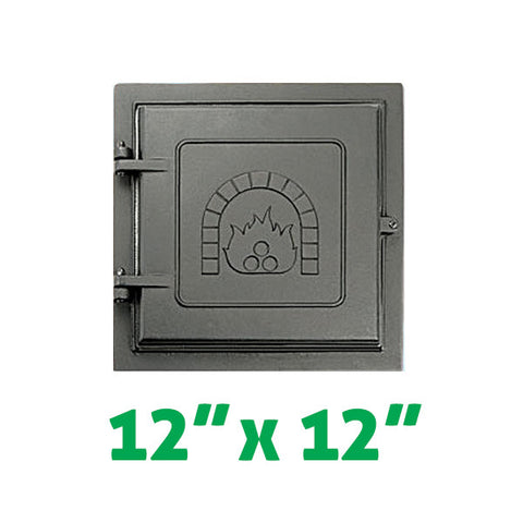 "Smoke Chamber Clean Out Door 12"" x 12"" - Chimney Cricket"