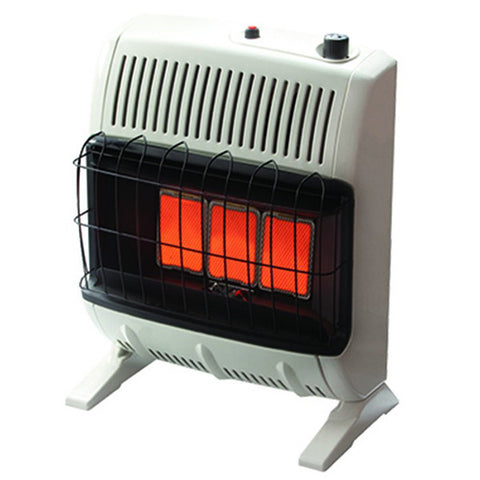 20,000 BTU Vent Free Radiant Natural Gas Heater