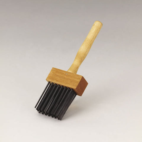 Fireplace Tools - Duster Brush for Damper and Firebox #23814 - Chimney Cricket